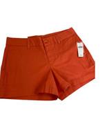 "KHAKIS by GAP Womens Size 1 Shorts Orange 4"" inseam Classic Fit Stretch ... - $23.33"