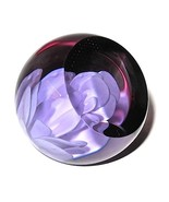 Caithness White Rose Studio Glass Paperweight U... - $69.00