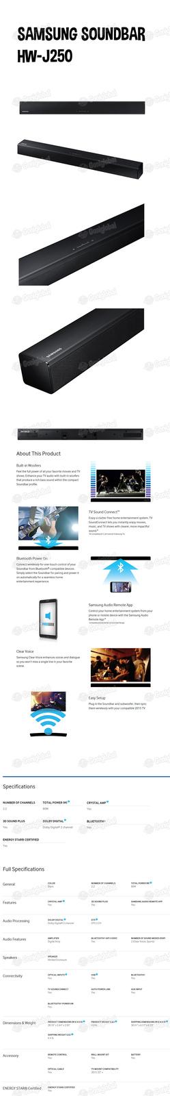 Samsungsoundbarhw j250copy