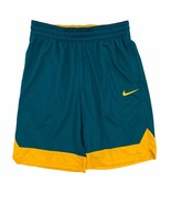 Nike Men's Dri-Fit Icon Basketball Shorts Teal Green Yellow AJ3914-381 - $29.99