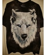 NWT The Mountain unisex L graphic T / Tee shirt WOLF - $21.99