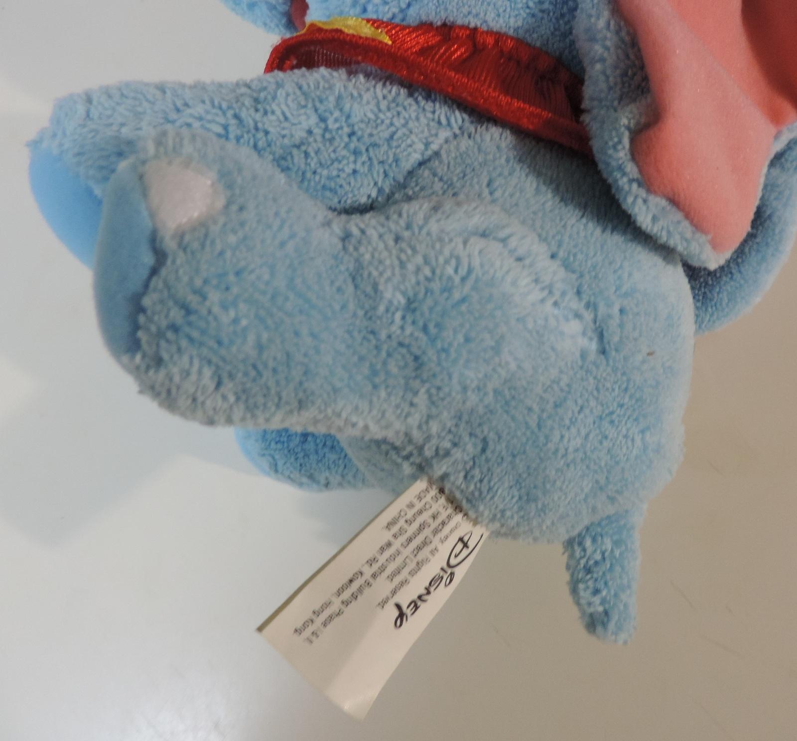 Disney Dumbo 6 inch plush elephant - Like New image 4