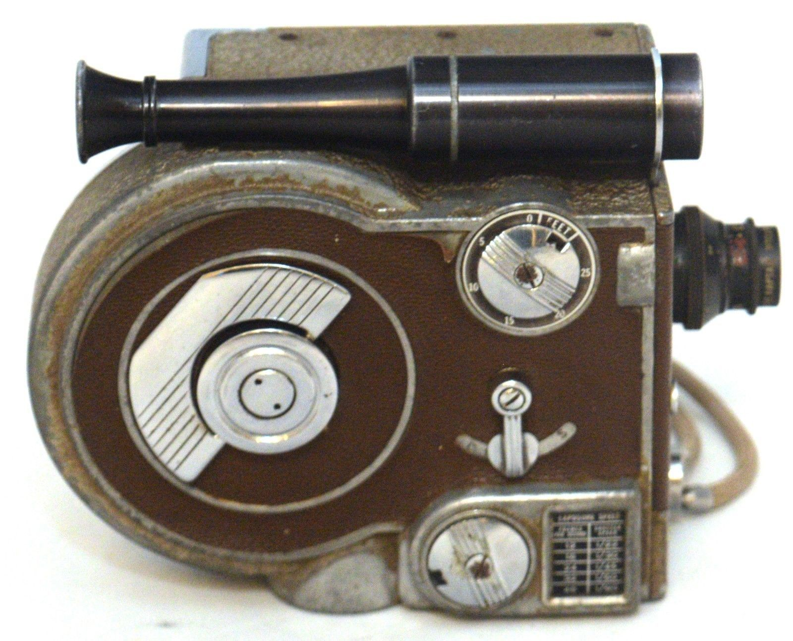 REVERE EIGHT 8 Model Seventy 70 Magazine Cine Vintage 8mm Film Movie Camera USA