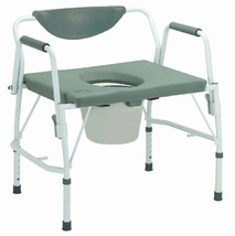 11135-1 - Bariatric Drop Arm Bedside Commode Chair - $151.45