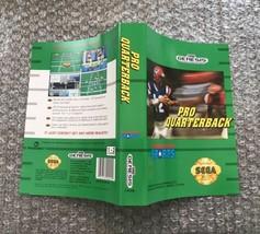 Pro Quarterback **ORIGINAL CASE/BOX ART ONLY** Sega Genesis - $4.27