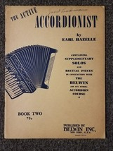 Accordionist by Earl Hazelle Book Two 1947 - $4.41