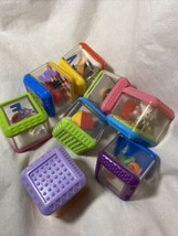 8 Fisher Price Peek A Boo Blocks Mixed Theme - $8.79