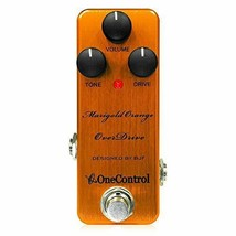*One Control Marigold Orange OverDrive Guitar Effects - $129.63