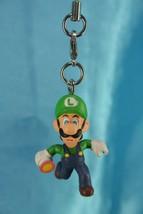 Bandai Super Mario Bros Party 4 Mini Charm Zipper Pull Figure Luigi - $19.99