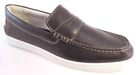 G.H.BASS QUEST PENNY CORE MEN'S CHOCOLATE LEATHER SLIP-ON LOAFER #1049-211 - $44.99