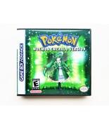 Pokemon Moemon Emerald Game / Case - Gameboy Advance (GBA) USA Seller - $13.99+