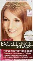 L'Oreal Excellence Creme 8RB Medium Reddish Blonde Warmer 1 Each Pack of 4 - $31.83