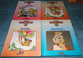 Teddy Ruxpin & Friends Story Time Books Only Lot of 4 The Airship Excell... - $9.50