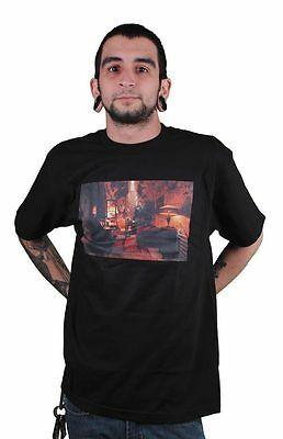 Deadline Uomo Nero Al Capone's Cella T-Shirt XL Nuovo