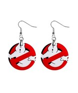 "NEW Ghostbusters  1"" Button Earrings - $7.10"