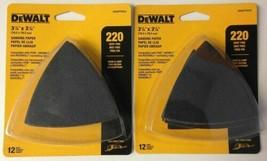 """DeWALT DWASPTRI223 3-1/8"""" x 3-1/8"""" H&L 220 Grit Sanding Paper 2 (12) Packs - $5.45"""