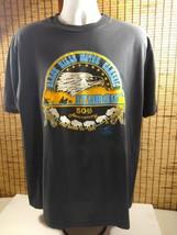 Mens Sturgis Black Hills Motor Classic T Shirt 50th Ann Cotton Biker Mot... - $23.70