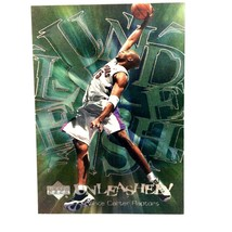 Vince Carter 2000-01 Upper Deck Unleashed Insert Card #U1 Toronto Raptors  - $2.92