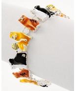 Adorable colorful epoxy cat Magnetic Closure Br... - $12.86