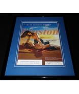 2004 Winston Cigarettes Leave Bull Behind Framed 11x14 ORIGINAL Advertis... - $32.36