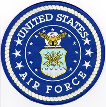 Us Air Force 8'' Large Embroidered Patch - $17.81