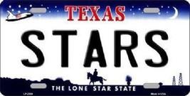 "NHL Dallas Stars License Plate State Background Metal Tag  U.S.A."" - $9.85"
