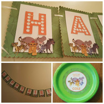 The Lion Guard banner, plates and cups - $69.29