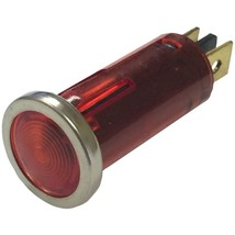 Battery Doctor(R) 20543 12-Volt .5 Round Indicator Light with Chrome Bez... - $20.26