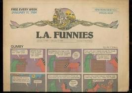 L.A. FUNNIES JAN 11 1984-GUMBY-HEY COACH-ZIPPY-RAREST  VF - $181.88