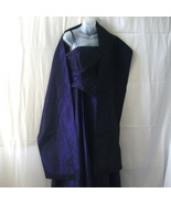 J S Collections purple gown with wrap for weddi... - $51.75