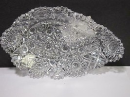 ABP cut glass Hunts Royal tray C20 - $135.23