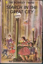 The Bobbsey Twins Search in the Great City #9 Laura Lee Hope - $4.75