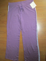 LADIES KNIT PANTS  DEREK HEART  SIZE 1X   PURPL... - $15.99