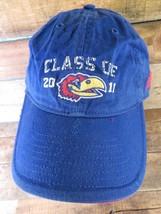 KU Jayhawks Class of 2011 Adidas Adjustable Adult Cap Hat - $12.86
