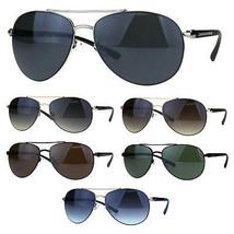 Designer Exposed Lens Officer Pilots Luxury Fashion Sunglasses - $12.95
