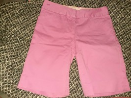 Lilly Pulitzer Pink  Women's Shorts Vtg Longer Style White Tag Sz 2 - $31.68