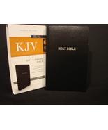 KJV, Gift and Award Bible,Black Leatherflex, Black, Red Letter Edition b... - $3.49
