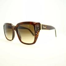 Chopard Damen Sonnenbrille SCH187R 9XKN 53MM Landschildkröte Rahmen mit ... - $217.79