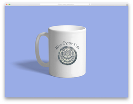 blue oyster cult Custom Mug - ₹831.48 INR