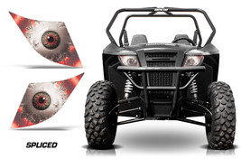 AMR Racing Arctic Cat Trail/Sport UTV Headlight Graphics Eye Sticker Dec... - $18.95