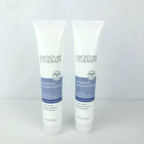 AVON Moisture Therapy Hand Cream Intensive Healing Repair 4.2 OZ. (2 tubes)
