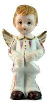 Vintage july boy birthday angel figurine 1 thumb200