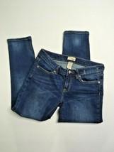 Gap Jeans Capris, Size 2/26, Medium Wash, Slightly Distressed, Stretch - $23.13