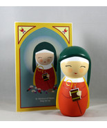 Shining Light Doll St. Monica Collectible Vinyl NEW Story Prayer & Card - $16.64