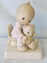 Precious Moments E5200 No Mark Bear Ye One Another's Burdens - $29.59