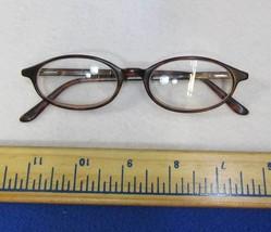 Nine West Eyeglasses Womens Brown Plastic Full Rim Cat Eye Frame 19 140 - $9.89