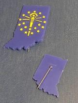 Vintage 70s Lapel Pins- Stick Pin Badges/Pin Backs- Metal/Plastic image 5