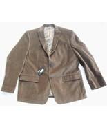 NWT Murano Tan Velvet Blazer Sportcoat Jacket Mens XL  Smoking Surgeons ... - $115.00