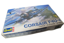 Revell Corsair F4U-4 Navy Fighter Plane 1/48 Scale Plastic Model Kit 85-... - $14.85
