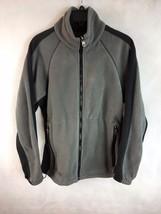 COLUMBIA CORE INTERCHANGE Mens Gray Long Sleeve Full Zip Fleece Jacket S... - $21.49